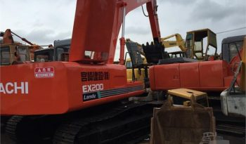 HITACHI EX200-1 EXCAVATOR 2006 full